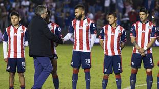 Vergara, después de un partido de Chivas.