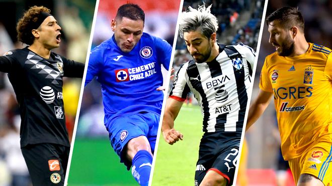 Algunos posibles miembros del All Star Liga MX.