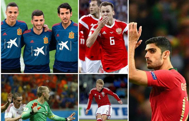 El Valencia presenta siete internacionales para la Euro 2020 - MARCA.com
