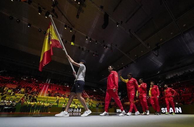 España debuta hoy contra Rusia en la Copa Davis 2019