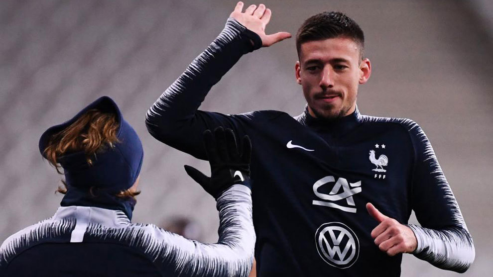 Griezmann and Lenglet trained with Barcelona on Tuesday - MARCA.com