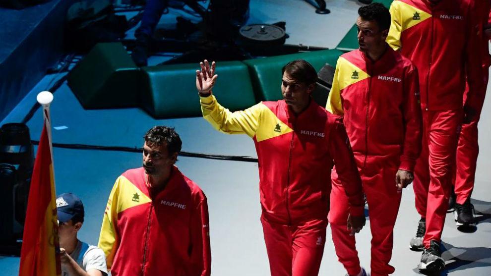 España, en la presentación oficial de equipos