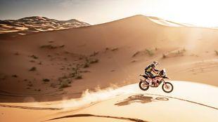 La arena será protagonista en el Dakar saudí.