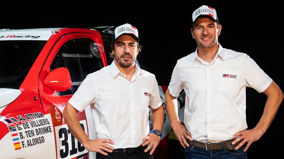 Fernando Alonso y Marc Coma serán la pareja estrella del Dakar 2020.
