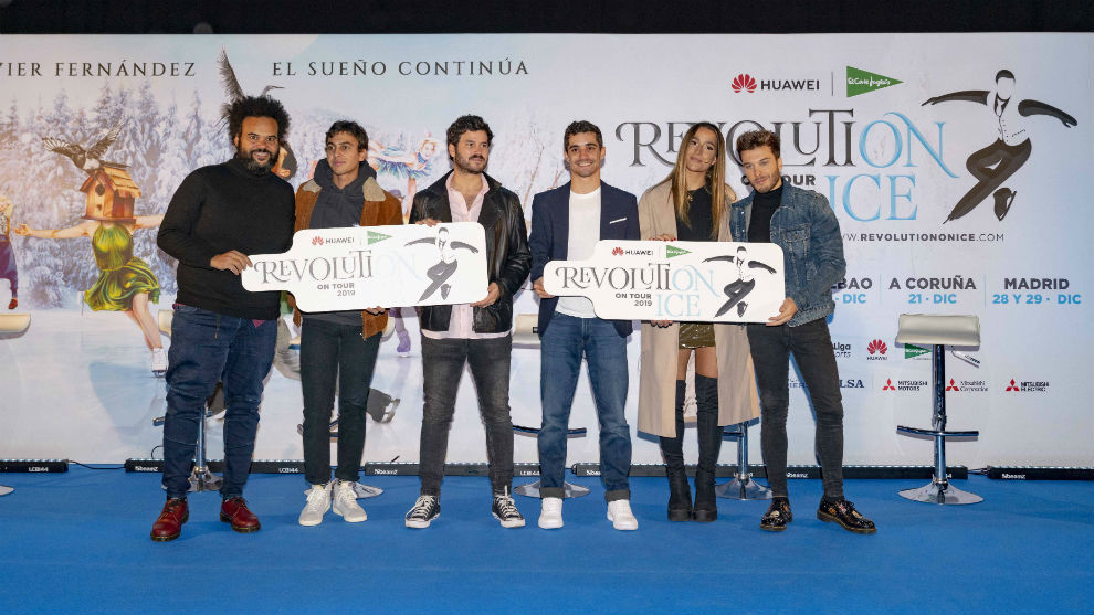 Carlos Jean, Antón Carreño, Willy Bárcenas, Javier Fernández,...