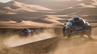 El desierto será protagonista en el nuevo Dakar saudí.