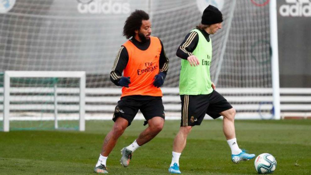 Modric and Marcelo