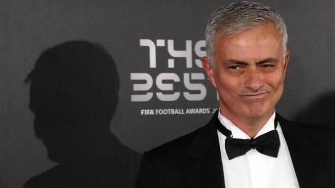 Mourinho, en la gala FIFA The Best.