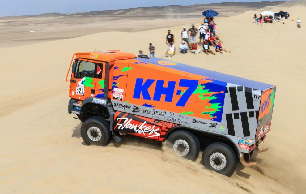 Juvanteny, Criado y Domenech suman un nuevo Dakar.