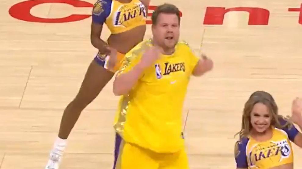 Lakers Vs Thunder Gronkowski Venus Williams Y James Corden