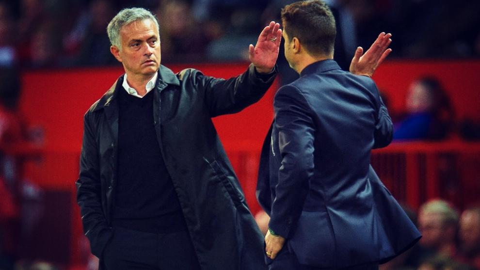 Mourinho toma el relevo de Pochettino al frente del Tottenham.