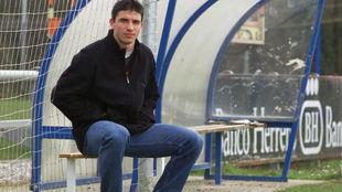 Rubén Reyes, en una foto de archivo durante su etapa de futbolista en...