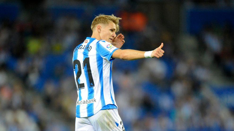 Real Sociedad: Odegaard will play at the Bernabeu   MARCA in English