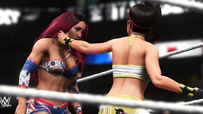 WWE 2K20 está repleto de bugs y glitches