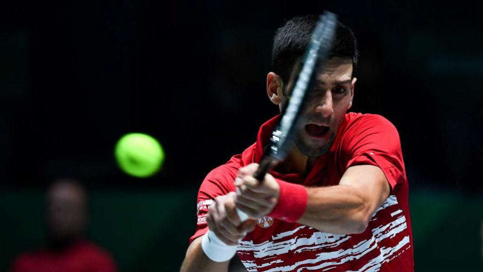 Djokovic y Serbia barren en la Copa Davis