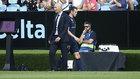 Zinedine Zidane y Gareth Bale, durante un partido de esta temporada.