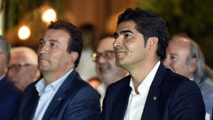 Haro y Catalán, en una presentación