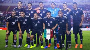 Elige al XI de la selección mexicana de fútbol