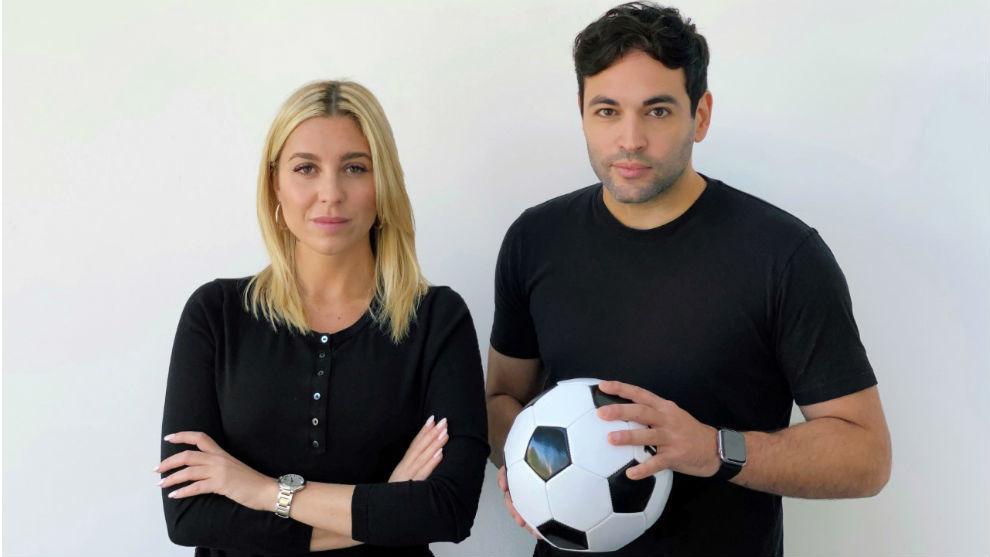 Los argentinos Vicky Cogevina Reynal y Matías Castello, cofundadores...