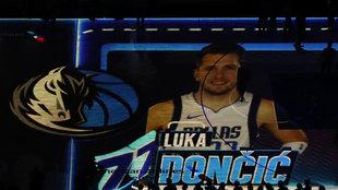 Espectacular presentación en Dallas de Luka Doncic