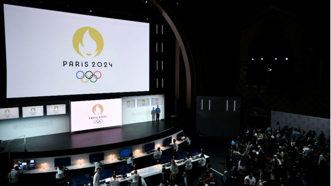 Un momento de la presentación de París 2024
