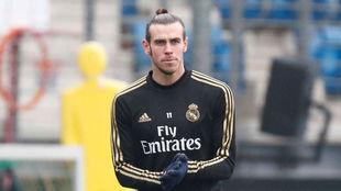 Bale, este jueves en Valdebebas