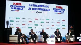 La presidenta del Eibar, Amaia Gorostiza, en el MARCA Sport Weekend.
