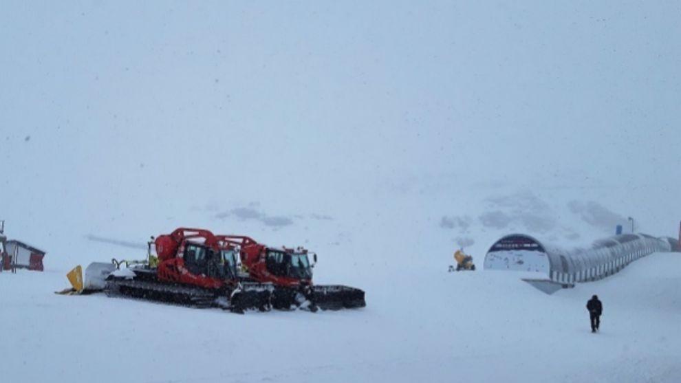 La estación adaluza abre el sábado con 13 km esquiables.