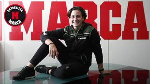 Ana Carrasco posa en la redacción de MARCA.