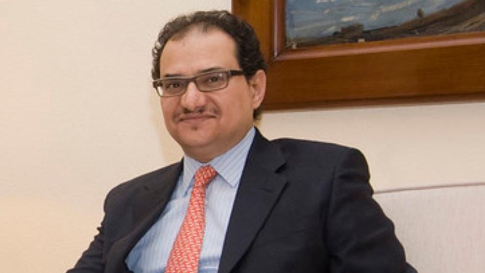 Príncipe Mansour bin Khalid Al Farhan A-Saud, embajador en España...