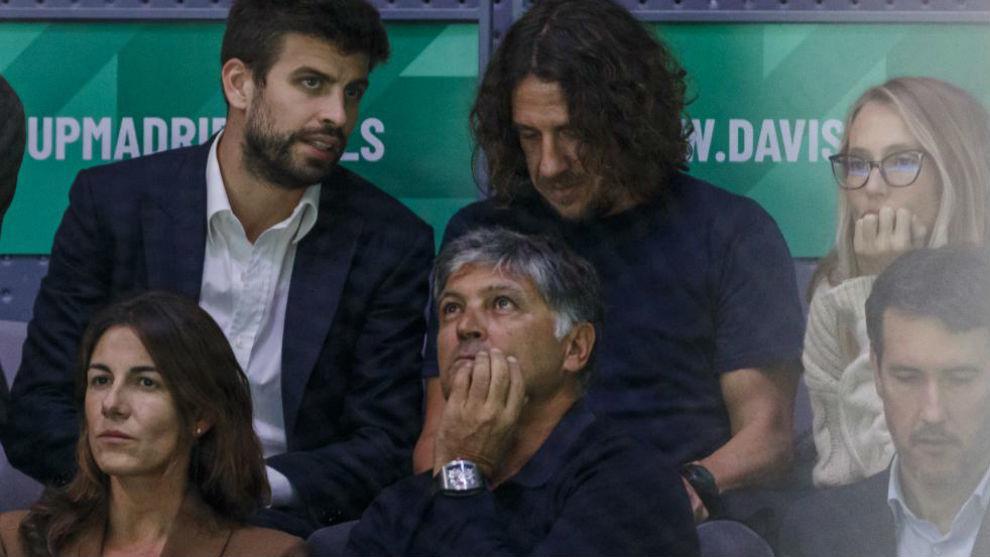 Piqué invitó a Sergio Ramos a la final de la Copa Davis