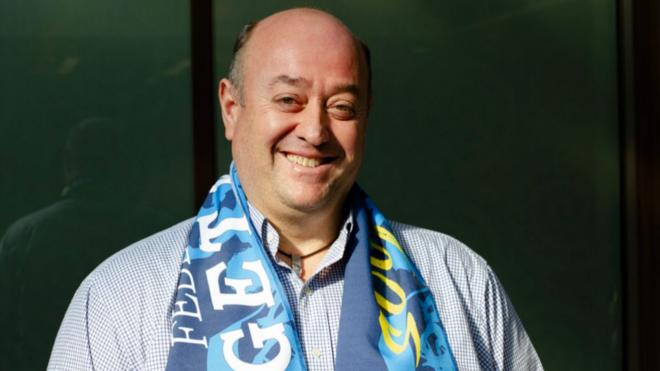 José Antonio Carrascosa, presidente Federación Peñas Getafe