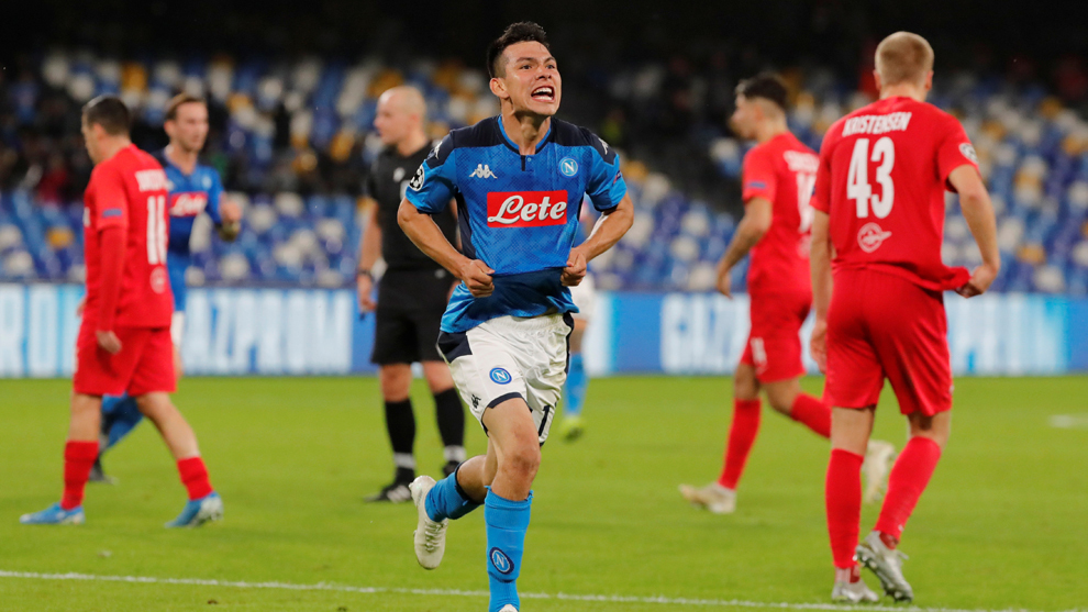 Así fue el gol de 'Chucky' Lozano ante AC Milan