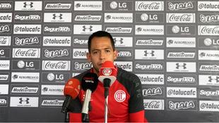 Rodrigo Salinas previo al partido de este domingo.