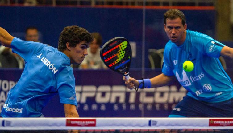 Lebrón y Paquito, en los cuartos del Sao Paulo Padel Open.