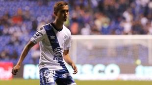 Emiliano García, futbolista del Puebla.