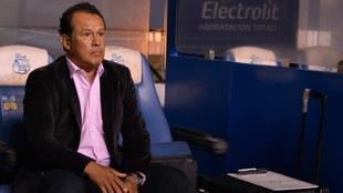 Juan Reynoso, entrenador del Puebla.