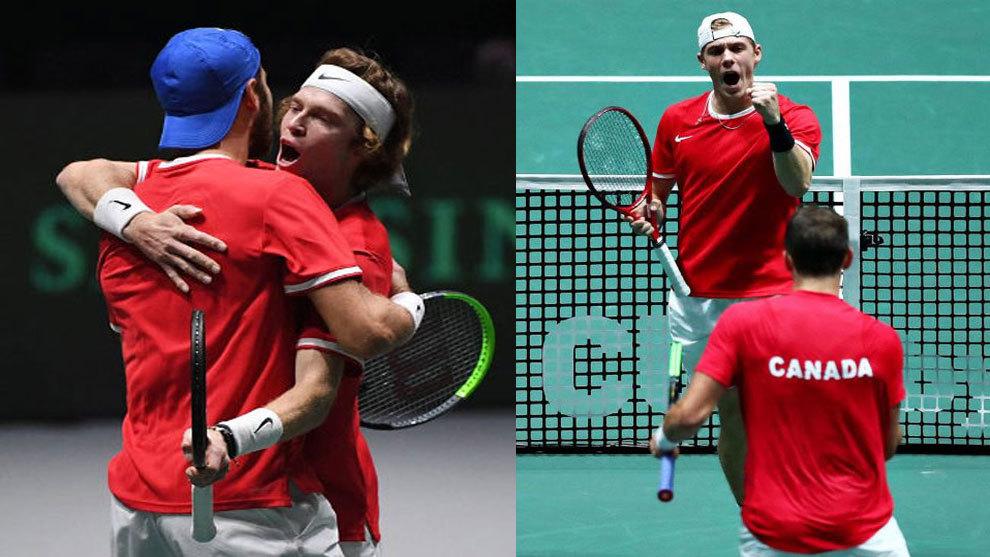 Canadá juega por primera vez una final de Copa Davis