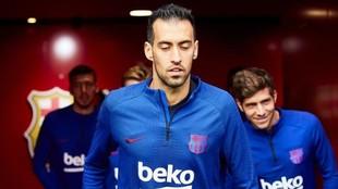 Sergio Busquets, jugador del Barcelona, en una imagen de archivo.