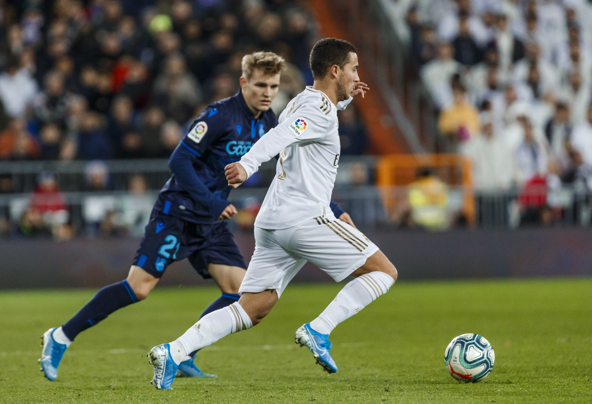 Hazard speaks on scoring more goals than Cristiano Ronaldo at Real Madrid