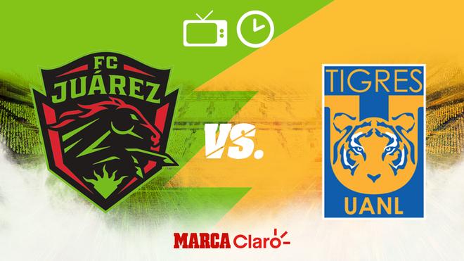 FC Juárez vs Tigres: Horario y dónde ver
