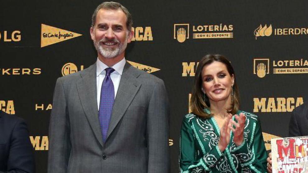 Los Reyes de España, en el 80 aniversario de MARCA