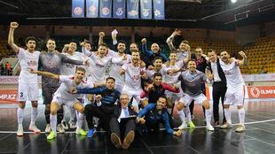 ElPozo celebra su clasificación para la Final Four.