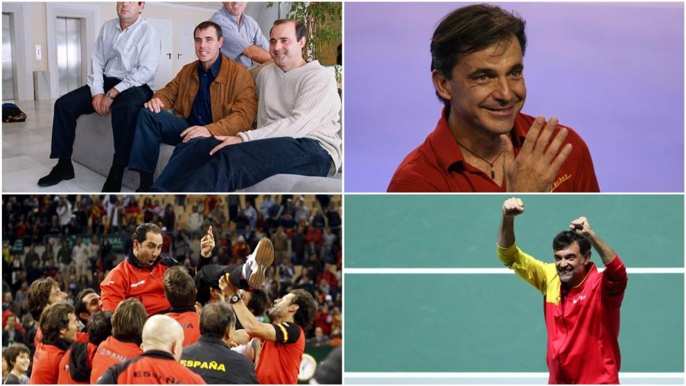 Todos los capitanes que ganaron la Copa Davis