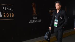 Marcelo Gallardo no tiene segura su continuidad en Argentina.