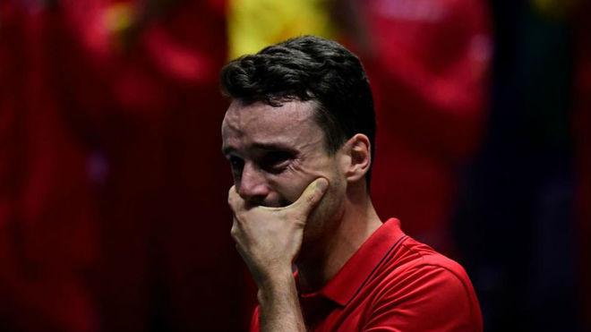 Roberto Bautista, que perdió a su padre hace tres días, no pudo...