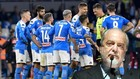 De Laurentiis y jugadores del Nápoles