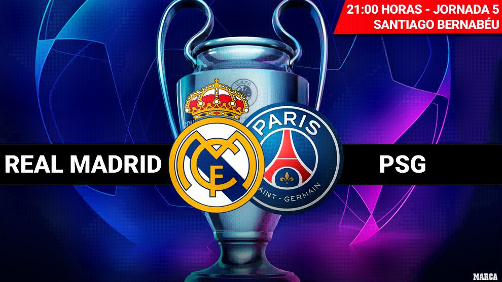Real Madrid - PSG: Horario y dónde ver en television hoy el partido...