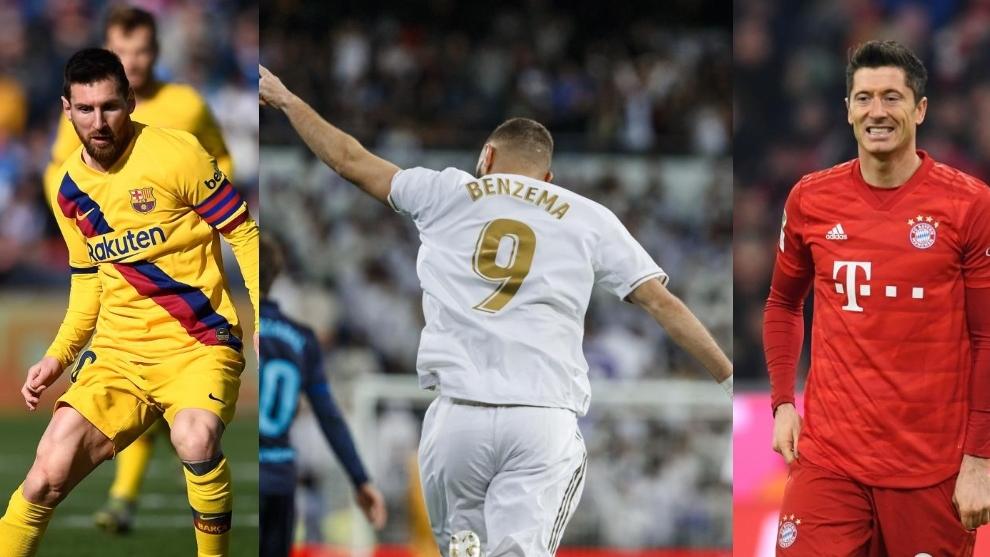 Levandovski va Benzema Messiga tenglashib oldi. Chempionlar Ligasining raqamlari va faktlari