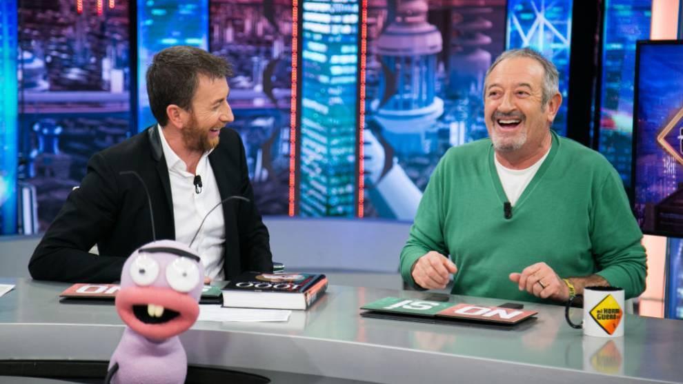 Karlos Arguiñano intervino en 'El Hormiguero' para hablar con Ricardo...